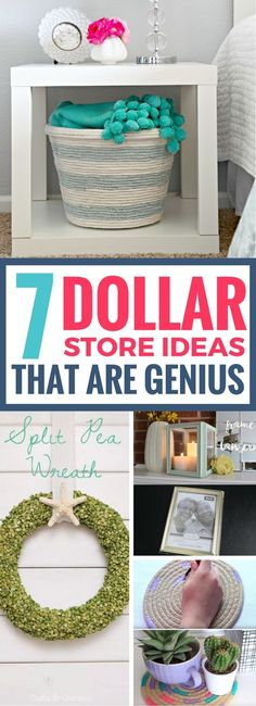 Genius Dollar Store ideas that will make you regret not buying items from your last visit. There's so many AMAZING ways to upgrade your home decor with these simple yet brilliant DIY dollar store hacks.