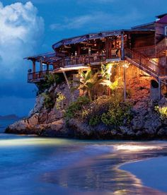 Eden Rock Hotel St. Barts in the Caribbean.