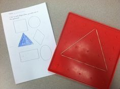 Geoboard Shapes