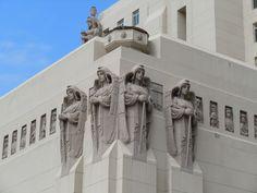Park Plaza Hotel building angels