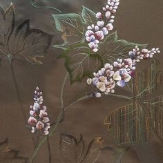 The Beauty of Japanese Embroidery - Embroidery Patterns Sashiko Embroidery, Embroidery Works, Japanese Embroidery, Learn Embroidery, Embroidery Applique, Beaded Embroidery, Embroidery Stitches, Embroidery Patterns, Flower Embroidery Designs