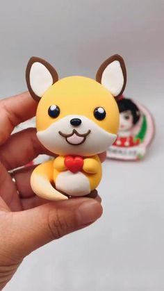 Polymer Clay Animals, Fimo Clay, Polymer Clay Charms, Cute Polymer Clay, Clay Art Projects, Polymer Clay Projects, Cute Crafts, Creative Crafts, Clay Fairy House