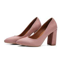 d7930674da18 Meotina Women Autumn Shoes High Heels Plus Size 34 45 11 Chunky High Heel  Pumps Pointed