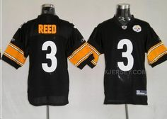 http://www.xjersey.com/pittsburgh-steelers-3-reed-black-jerseys.html Only$34.00 PITTSBURGH STEELERS 3 REED BLACK JERSEYS #Free #Shipping!