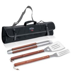 The New Orleans Pelicans 3 Piece BBQ Tote Grill Tool Set