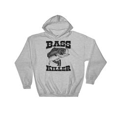 A personal favorite from my Etsy shop https://www.etsy.com/listing/554892063/bass-killer-hooded-sweatshirt