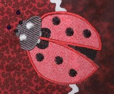 Looking for your next project? You're going to love Ladybug by designer Wilna Geel. Machine Embroidery Designs, Embroidery Patterns, Ladybug, Coin Purse, Creative, Projects, Crafts, Book, Appliques