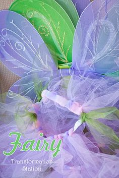 fairy transformation station #party