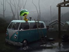 """Another Rainy Day"" by Goro Fujita"