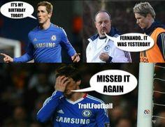 Football joke, Fernando Torres
