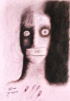 A charcoal drawing on paper about something that most are unaware. Brandon Lee, Charcoal Drawing, Human Trafficking, Original Art, Halloween Face Makeup, Drawings, Paper, Sketches, Drawing