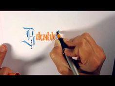 Mindcrack Calligraphy - BdoubleO - YouTube