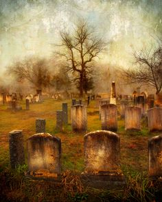 """""""FORGOTTEN SOULS"""" This was taken on an early, foggy morning in The Olde Newbury Burial Grounds in Newbury MA. this isnt a painting? Cemetery Statues, Cemetery Headstones, Old Cemeteries, Cemetery Art, Graveyards, Angel Statues, Monuments, Spooky Places, Foggy Morning"""