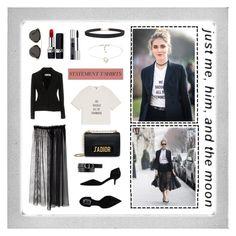 """""""Statement t-shirt"""" by anna-styles15 on Polyvore featuring Mode, Polaroid, Christian Dior, N°21, Humble Chic, Dior, chiaraferragni, statement, feminist und statementtshirt"""