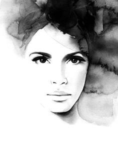 SE3 image of Magdalena Tyboni print Pretty Anne
