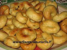 Deliziosie e sfiziose ciambelline croccanti, ideali per aperitivi e snack