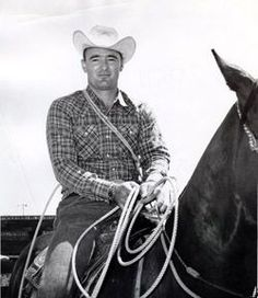 Clint Johnson Saddle Bronc Riding Inducted 1992 Prca