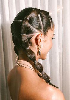 Dope Hairstyles, Party Hairstyles, Braided Hairstyles, Middle School Hairstyles, Cool Hair Designs, Celebrity Hair Stylist, Gorgeous Hair, Pretty Hair, Hair Looks