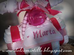 """TRICICLO DI PANNOLINI PER LA PICCOLA MARTA!! """"ingredienti di qualità per un regalo davvero speciale!"""