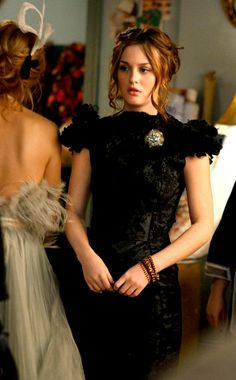 At Constance, you wear Marchesa in your school plays. Blair Waldorf