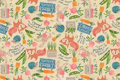 Sweet Lil' Market fabric by sarah_treu on Spoonflower - custom fabric