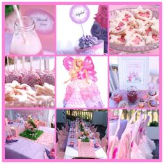 Enchanted fairy princess 5th birthday party