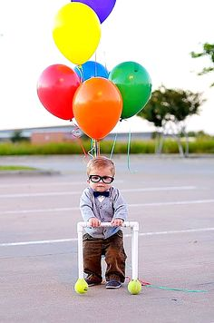 UP costume for baby. Adorable!