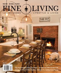 New England Fine Living Fall 2015  Purveyors of New England's luxury lifestyle and fine living. Architecture, Decorating, Entertaining, Travel, Style, and Leisure.