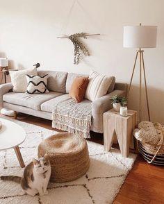 31 Genius Small Living Room Design Ideas Home Decor, Elegant Home Decor, Room Design, Boho Living Room, Beige Living Rooms, Room Inspiration, Apartment Decor, Living Decor, Living Room Designs