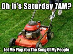 """""""Let Me Play You The Song Of My People"""" - Lawn Mower"""