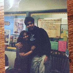 From @tnemusiccollective memory box. @tnemusiccollective last day of senior year 2002 wearing his @thejulianatheory hoodie. #tbt #tbt2002 #early2000s #early2000sfashion #tourmerch #emokid #emofashion #emomusic #posthardcore #poppunk #instashop #vintageshop #vinylrecords #vintageclothing #vintagefurniture