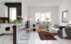 Decofilia Blog | Cocinas abiertas al salón: Una opción cómoda y decorativa