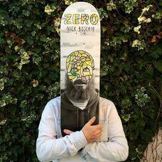 Zero Skateboarding, Zero deck, Zero Boserio Re-Portrait