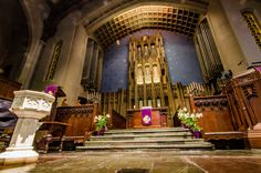 See the Cathedral-like sanctuary and intimate chapel of this storied church—one of Chicago's first organized congregations. #OHC2016
