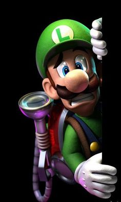 A huge gallery of artwork including Luigi, supporting characters, ghosts, the Gloomy Manor and the Poltergust from Luigi's Mansion Dark Moon for Nintendo Game Mario Bros, Mario Kart, Nintendo Characters, Video Game Characters, Super Smash Bros, Super Mario Bros, Wallpapers Games, Luigi's Mansion Dark Moon, Mario Und Luigi