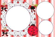 Lovely Ladybugs Free Printable Invitations.