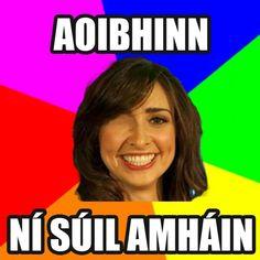 Aoibhinn Ní Shúilleabháin Irish Memes, Irish Humor, Irish Language, European Languages, Funny Jokes, Ireland, Lol, Pants, Humor