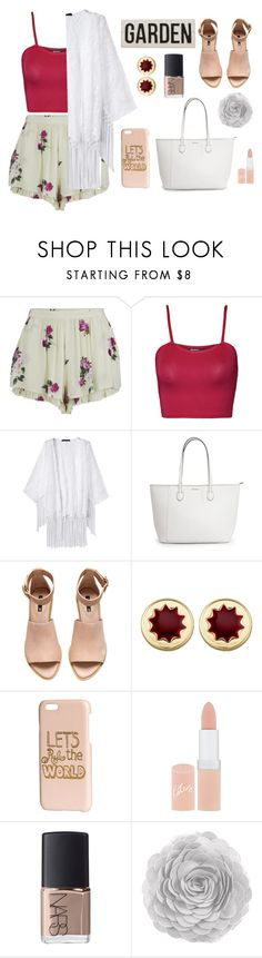 """Nameit #70"" by ericakslzr on Polyvore featuring MINKPINK, WearAll, H&M, House of Harlow 1960, Rimmel and NARS Cosmetics"