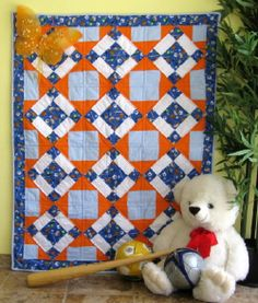 Baby quilts are not just for cuddles!