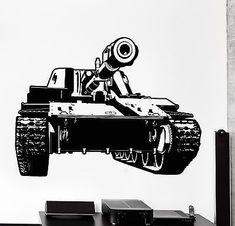 Black 12 x 18 Design with Vinyl RAD 526 1 Army War Truck Hummer Silhouette Vinyl Wall Decal