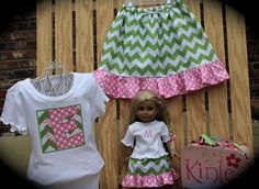 Custom Personalized Girl's Twirl Skirt with by KinleasKloset, $48.50