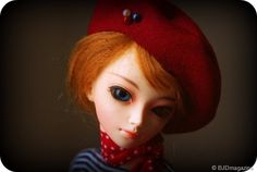 BJD French Beret Tutorial