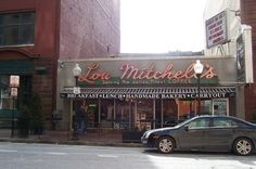 Best breakfast in the city -- Lou Mitchell's Restaurant  Chicago, Illinois