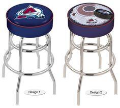 Colorado Avalanche NHL Retro Chrome Bar Stool