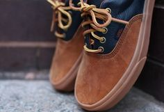 These Vans remind me of my mom's LL Bean rubber shoes. I might have to own a pair of these.. :)