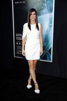 Las mejor vestidas de la semana - Sandra Bullock - Giambattista Valli