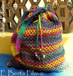 #shopper summer crochet #shopprt estiva uncinetto