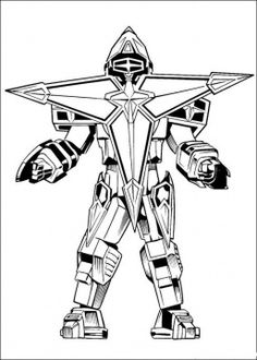 Coloring Robot Pages On Amazing Page Boys Of Kidscoloringpage Or Power Rangers Printable