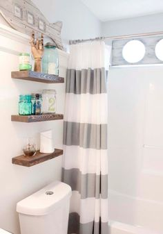 Organize your bathroom once and for all. Get inspired with these 10 creative storage solutions for small bathrooms.