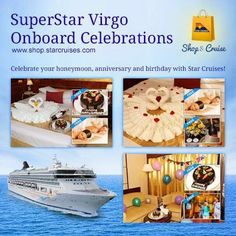Virgo Love, Celebrate Life, Three Days, Superstar, Celebrations, Special Occasion, Sailing, Cruise, Middle